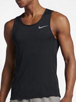 Camiseta Nike Miler Tank Dry Grafite