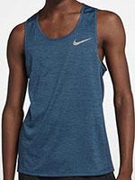 Camiseta Nike Miler Tank Dry Azul