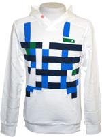 Blusão Adidas SF Checked Hood Branco