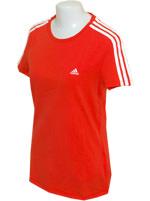 Camisa Feminina Adidas ESS 3S Laranja