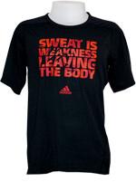 Camisa Adidas Graphic Clima Combat Preta