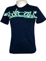 Camisa Adidas Graffiti Tee Marinho