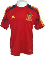 Camisa Treino Espanha Adidas Vermelha