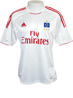 Camisa Jogo 1 Hamburgo Adidas 2013 Branca