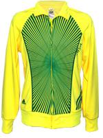 Jaqueta Adidas Brasil Amarela