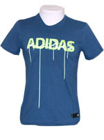 Camisa Adidas Laced Up Azul