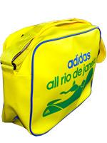 Mala Messenger Adidas All Rio Amarela