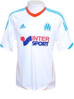 Camisa Jogo 1 O. Marseille Adidas 2013 Branca