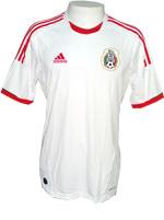 Camisa de Jogo M�xico Adidas 2013 Branca