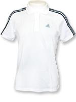 Camisa Polo Adidas ESS 3S Branca