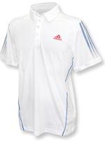 Camisa Polo Adidas Response Branca