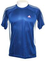 Camisa Clima 365 Refresh Tee Adidas Azul / Cinza
