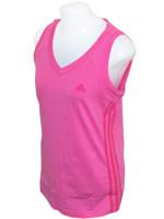 Regata Feminina Ess 3S Tank Adidas Rosa