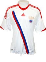 Camisa R�ssia Adidas 2012 Branca
