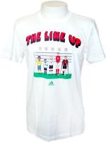 T-Shirt Adidas Line Up GR Branca
