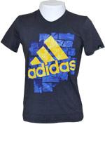 T-Shirt Adidas Smash Tee Preta