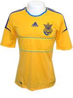 Camisa Ucr�nia Adidas 2012 Amarela