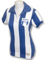 Camisa Feminina Retrô Avaí 1960 Listrada