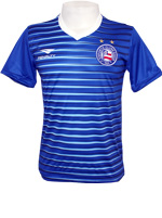 Camisa Aquecimento Bahia 2016 Azul