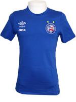 Camisa Concentração Bahia 2016 Umbro Azul