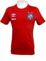 Camisa Concentração Bahia 2016 Umbro Vermelha