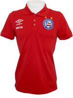 Camisa Polo Viagem Bahia Umbro Vermelha