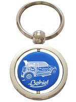 Chaveiro Azul - Bahia - Carro