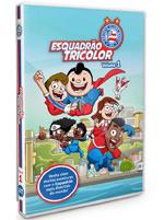 DVD Infantil Esquadrão Tricolor