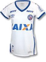 Camisa Feminina 1 Bahia Umbro 2016 Branca