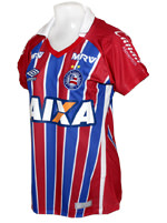 Camisa Feminina 2 Bahia Umbro 2016 Listrada