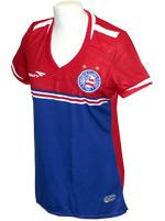 Camisa Feminina Goleiro 3 Bahia 2015 Vermelha