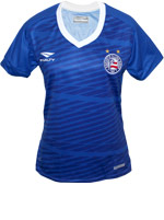 Camisa Feminina Goleiro Bahia 2016 Azul