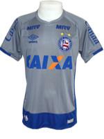 Camisa de Goleiro Bahia Umbro 2016 Cinza