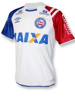 Camisa de Jogo 1 Bahia Umbro 2017 Branca