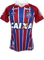 Camisa de Jogo 2 Bahia Umbro 2016 Listrada