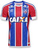 Camisa de Jogo 2 Bahia Umbro 2017 Listrada