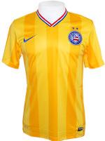Camisa Juvenil Bahia Nike 2014 Amarela