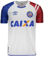 Camisa Juvenil 1 Bahia Umbro 2017 Branca