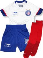Kit Infantil Jogo 1 Bahia 2016 Branco