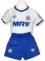 Kit Infantil Jogo 1 Bahia 2016 Branco Umbro