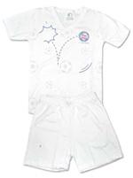 Pijama Curto para bebê Torcida Baby Bahia