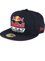 Boné New Era 950 Red Bull Racing Preto e Vermelho
