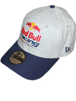 Boné New Era 3930 Red Bull Racing Cinza
