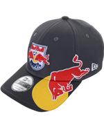Boné New Era 3930 Summer Red Bull Brasil Cinza