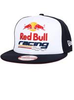 Boné New Era 950 Red Bull Racing Marinho e Branco