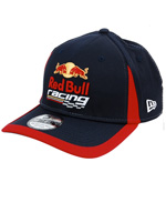 Boné New Era 3930 Red Bull Racing Marinho e Verm