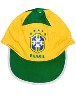 Boné Colorido Torcida Baby Brasil