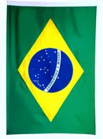 Bandeira 1P 96X68cm Brasil Mitraud