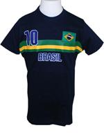 Camisa Braziline Brasil Strip Infantil - Azul