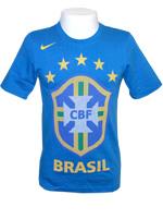 Camisa Brasil Federation Nike Azul